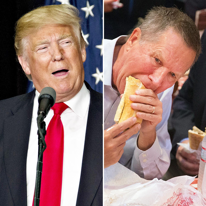 Donald Trump and John Kasich
