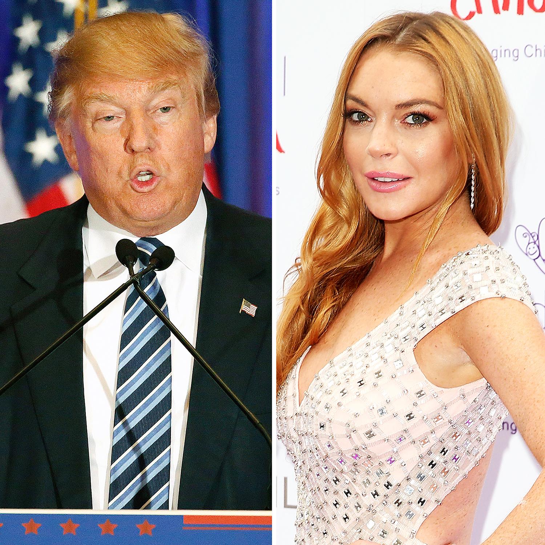 Donald Trump Lindsay Lohan