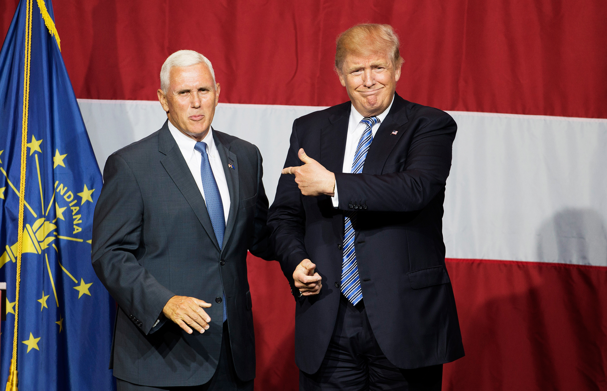 Donald Trump & Mike Pence