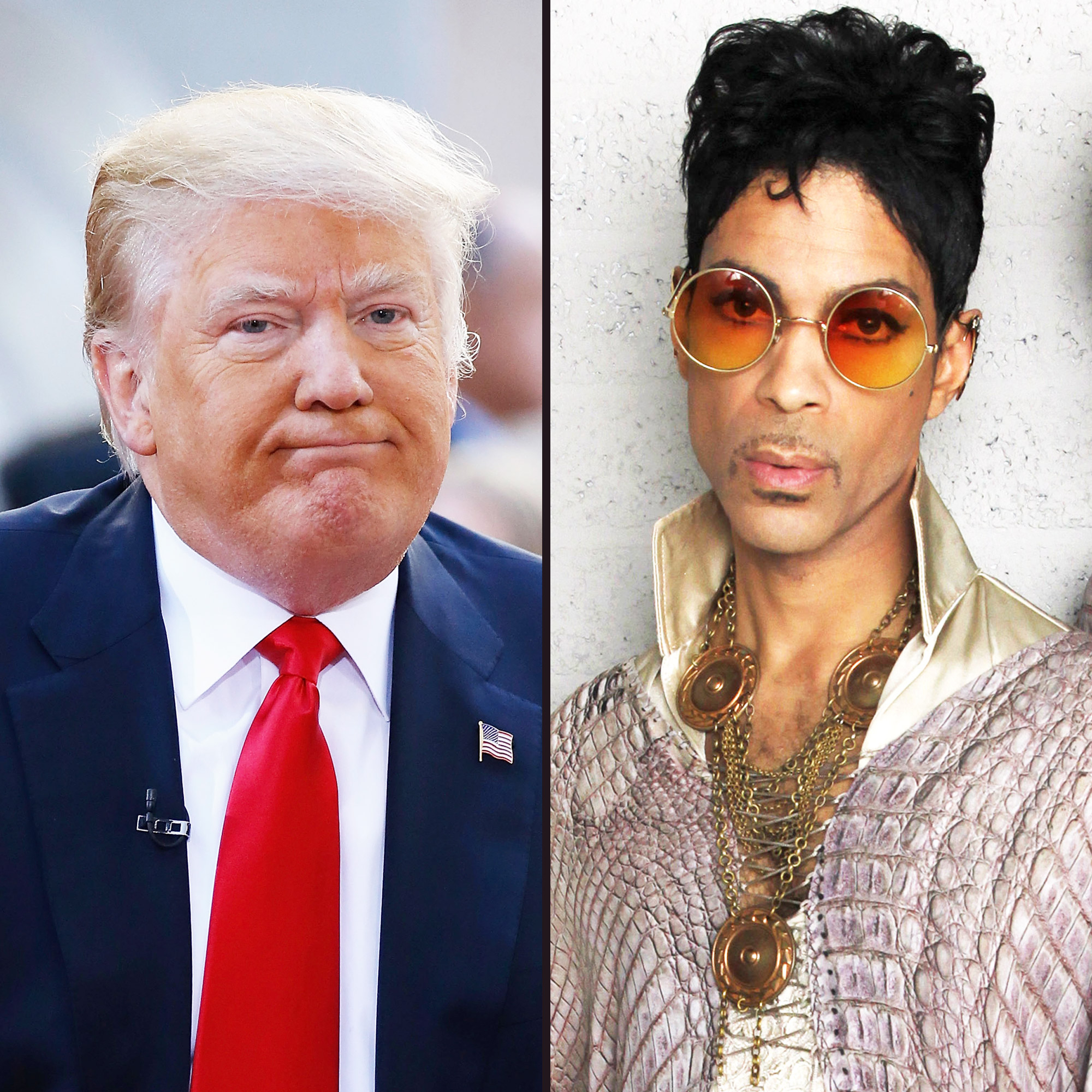 Donald Trump and Prince