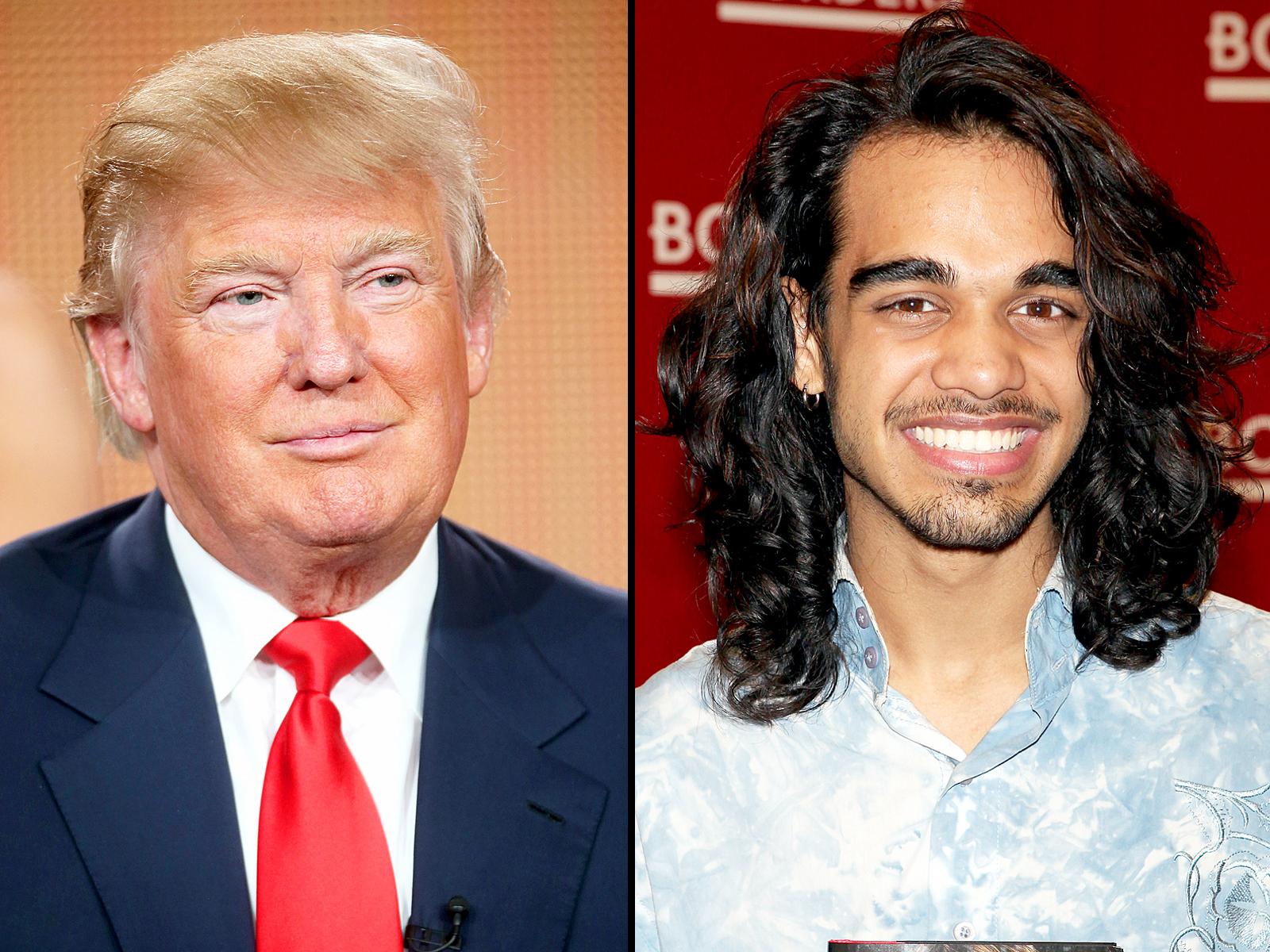 Donald Trump and Sanjaya Malakar