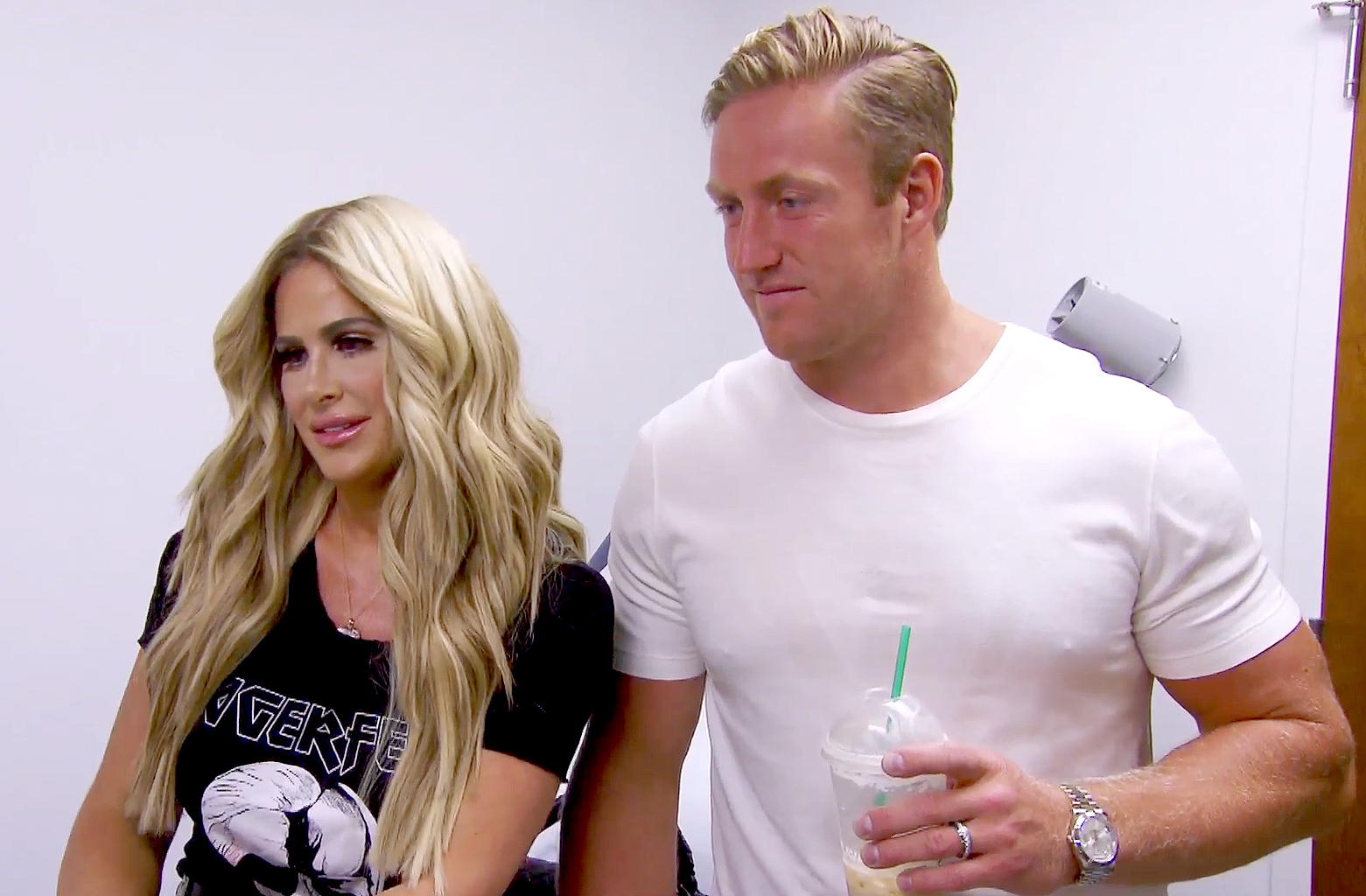 Kim and Kroy on Don't Be Tardy