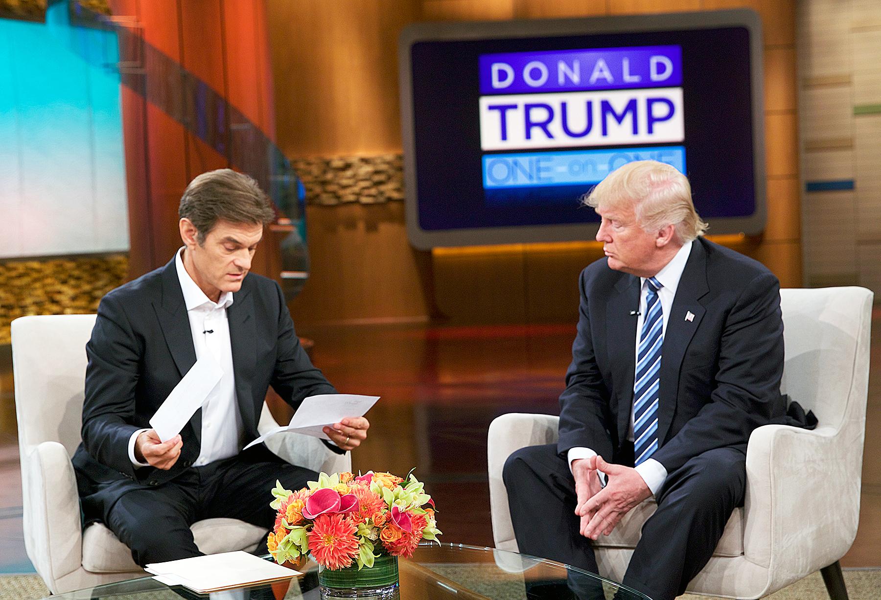 Dr. Oz Donald Trump