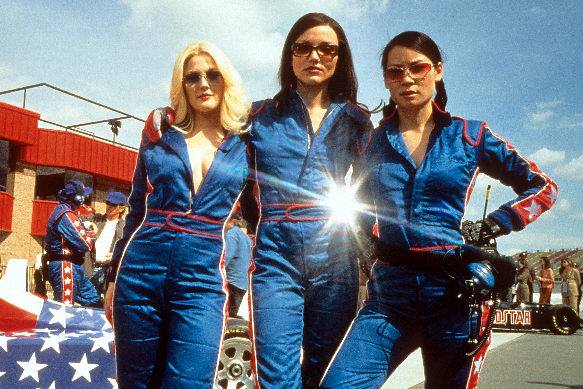 Drew Barrymore, Cameron Diaz and Lucy Liu in 'Charlie's Angels' in 2000.