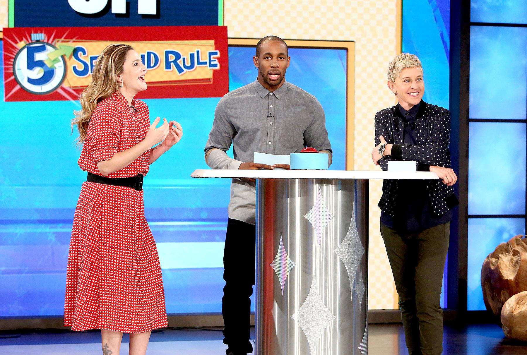 Drew Barrymore on The Ellen DeGeneres Show