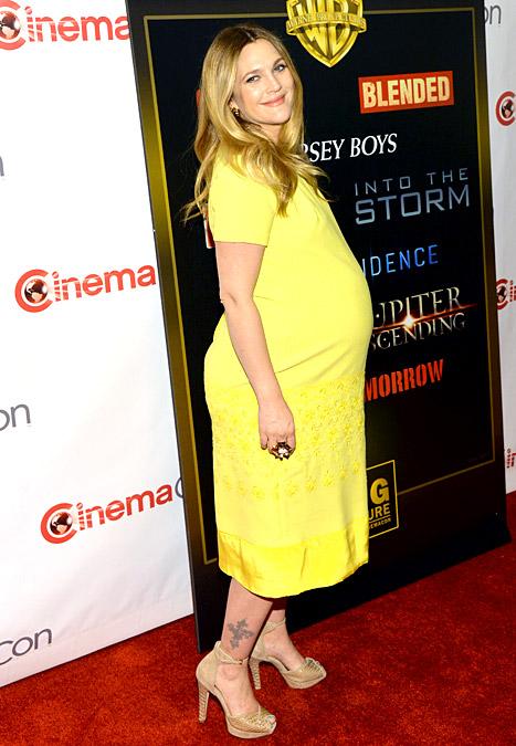 Drew Barrymore pregnant