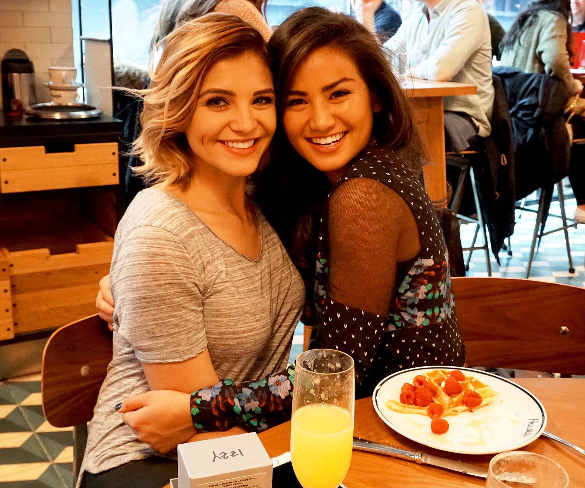 Olivia Caridi and Caila Quinn