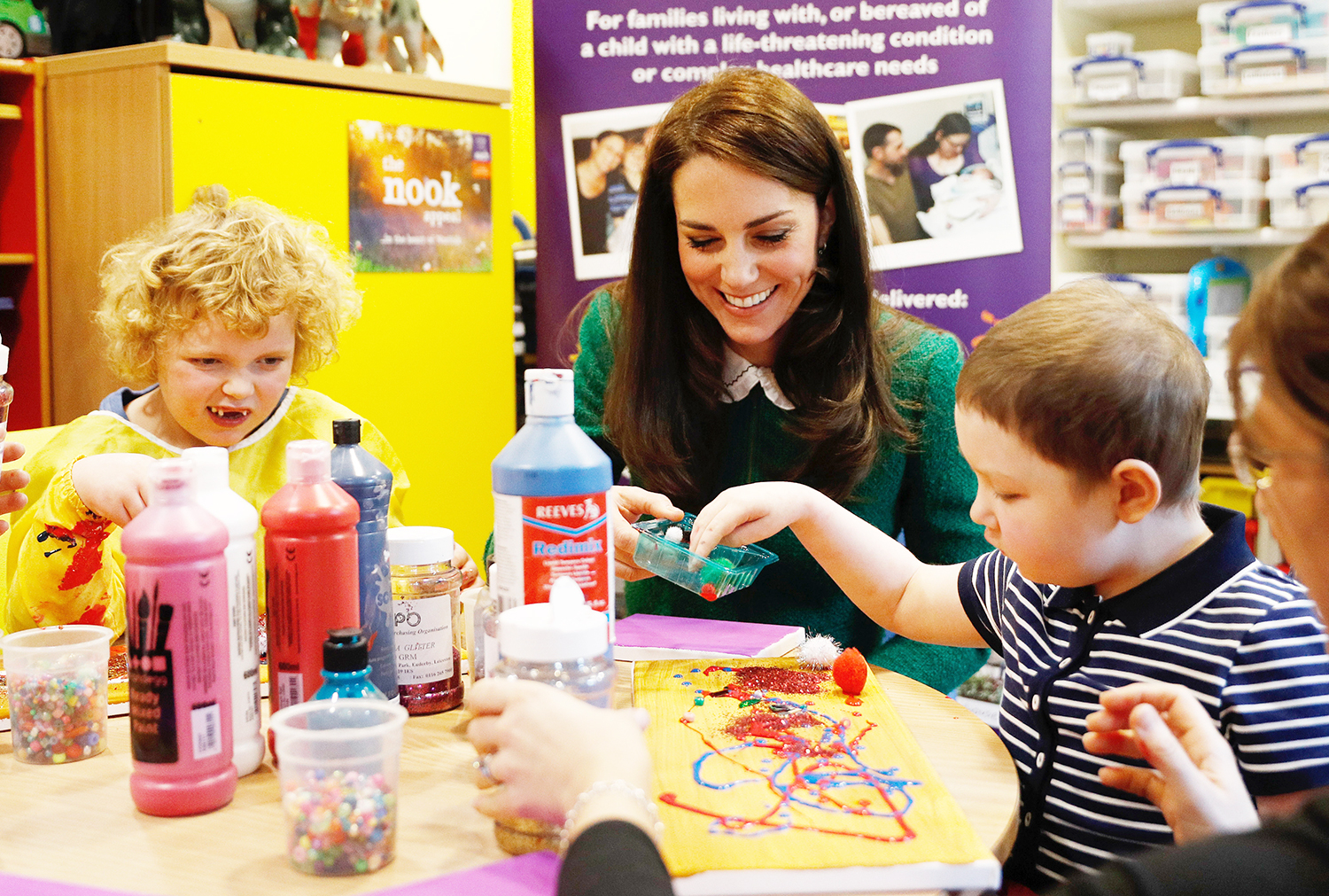 Catherine, Duchess of Cambridge visits the East Anglia's Children's Hospices (EACH) on January 24, 2017 in Quidenham, Norfolk.