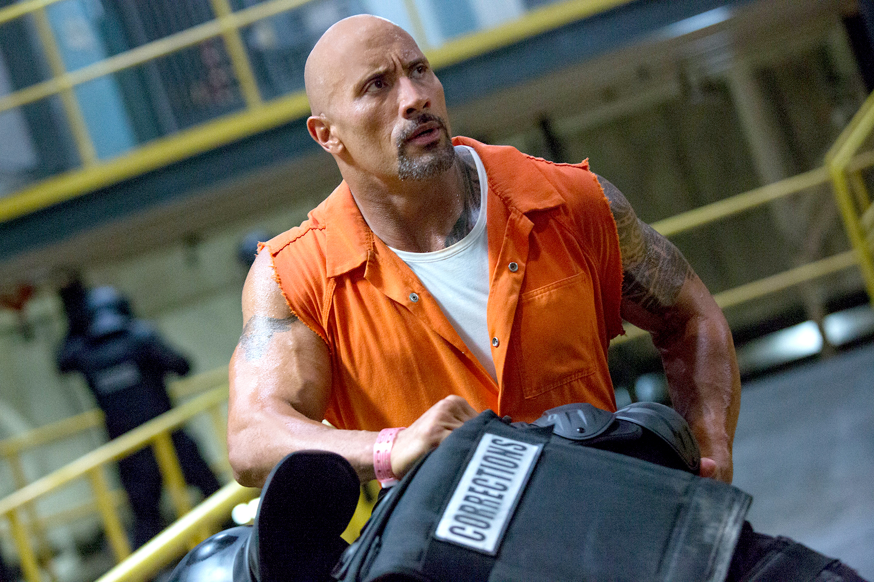 Dwayne Johnson in Fate of the Furious