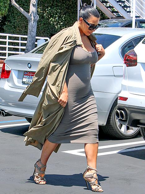 Kim Kardashian (side bump)