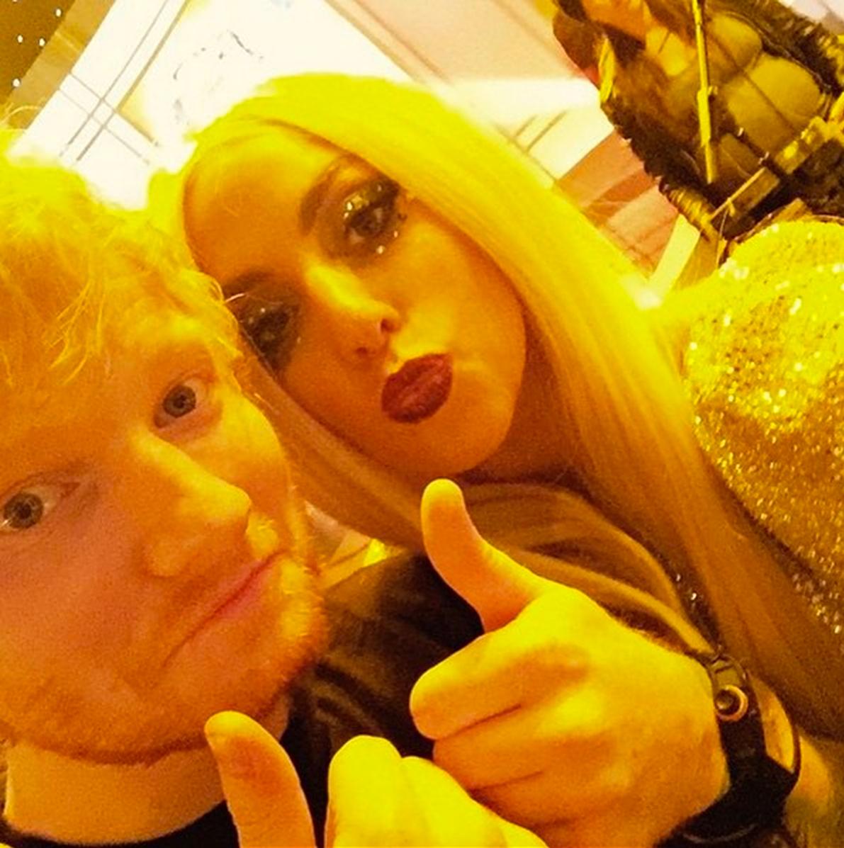 Ed Sheeran Lady Gaga