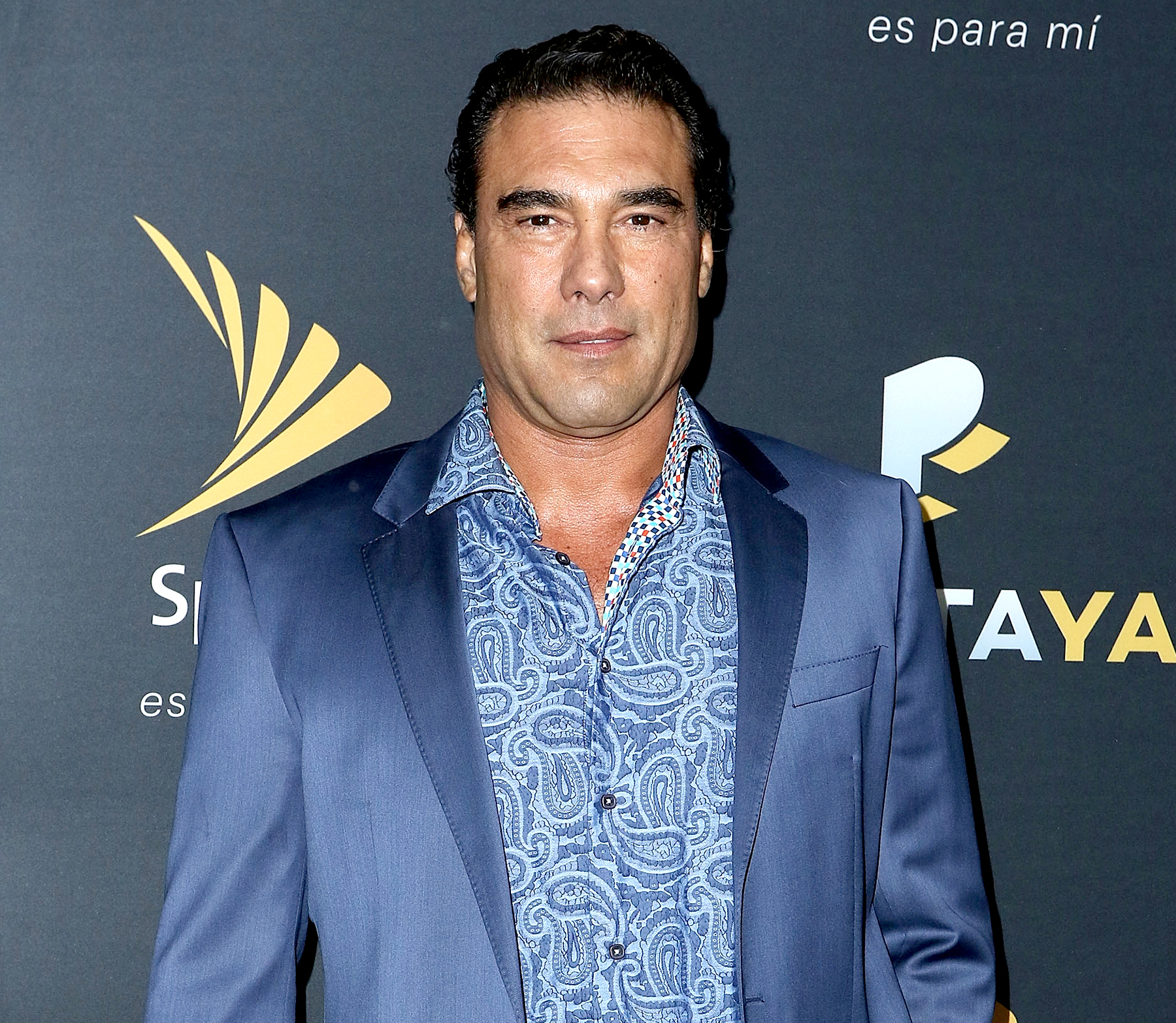Eduardo Yáñez attends the PANTAYA launch party at Boulevard3 in Los Angeles on October 10, 2017.