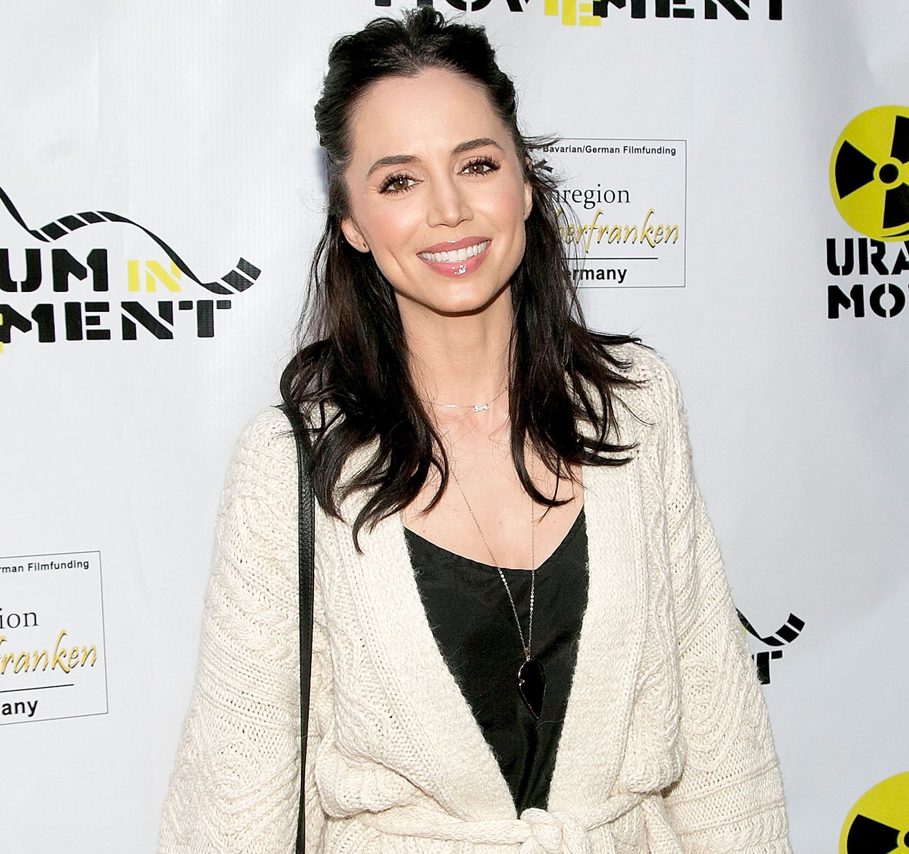 "Eliza Dushku arrives for the Atomic Age Cinema Fest - ""The Man Who Saved The World"" Premiere at Raleigh Studios on April 27, 2016 in Los Angeles, California."
