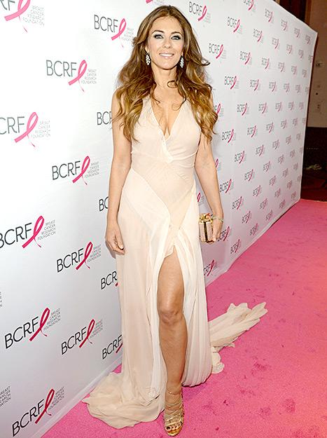 Elizabeth Hurley - Pink Carpet Party