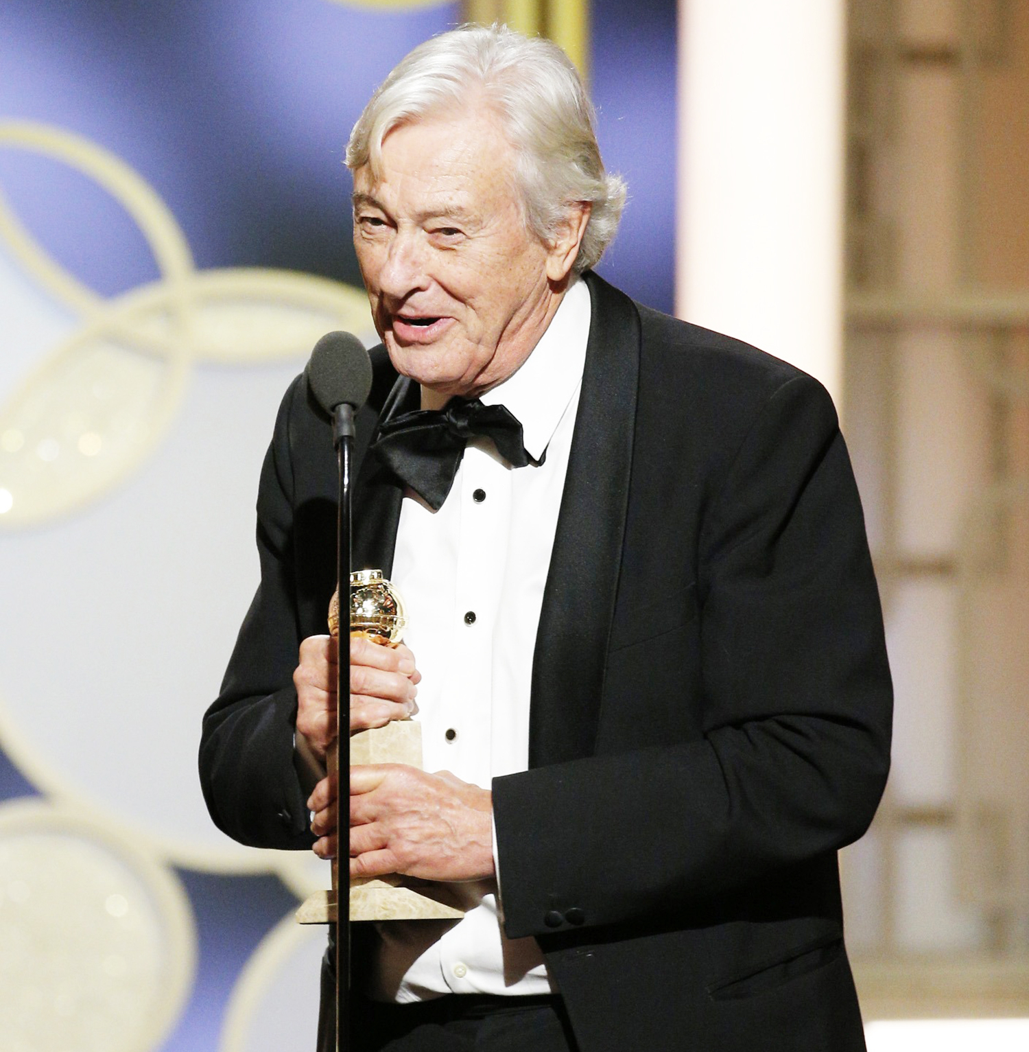 Paul Verhoeven accepts the award for Best Foreign Language Film for
