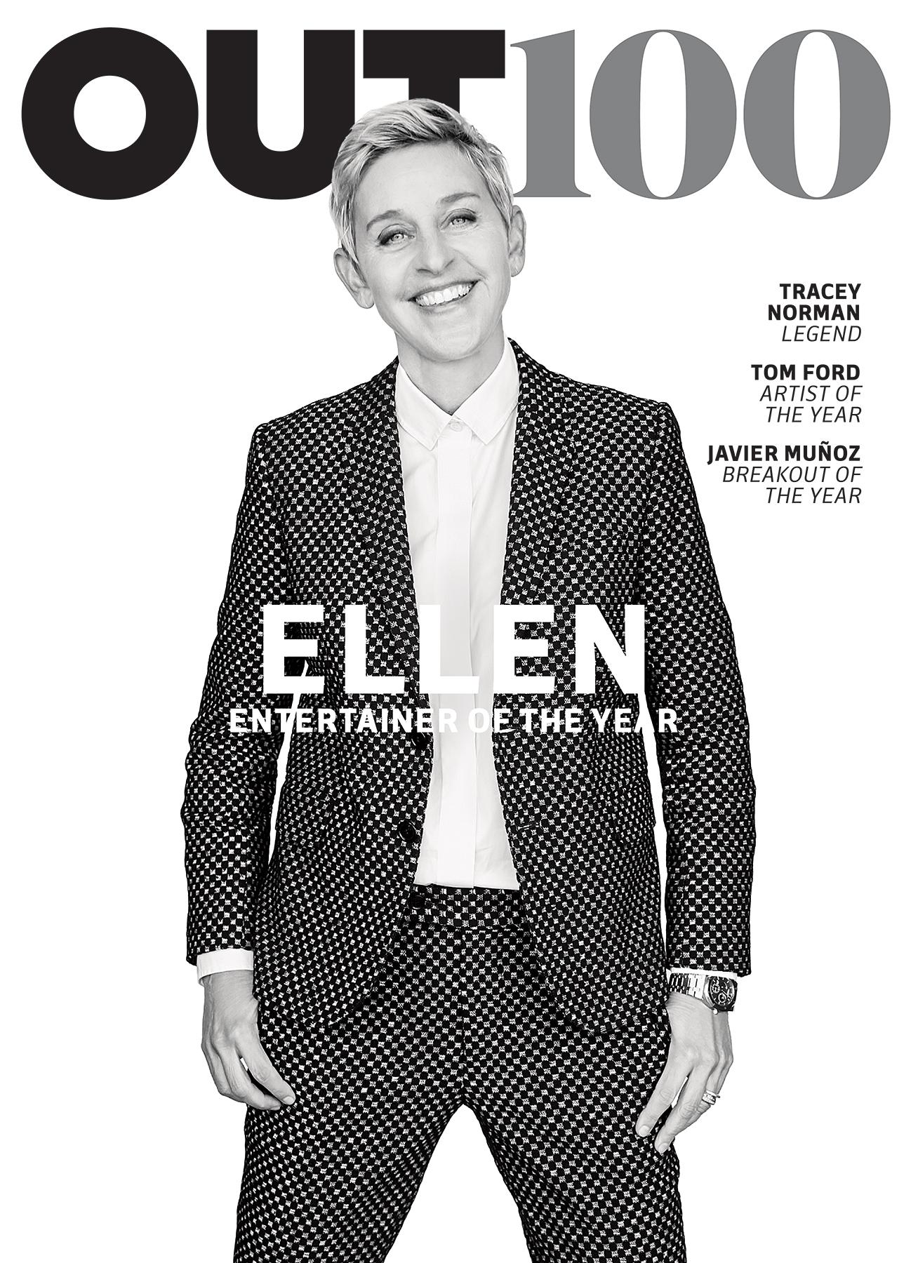 Ellen DeGeneres Out
