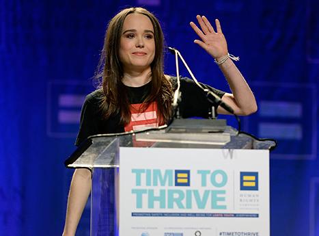 Ellen Page Announces She's Gay