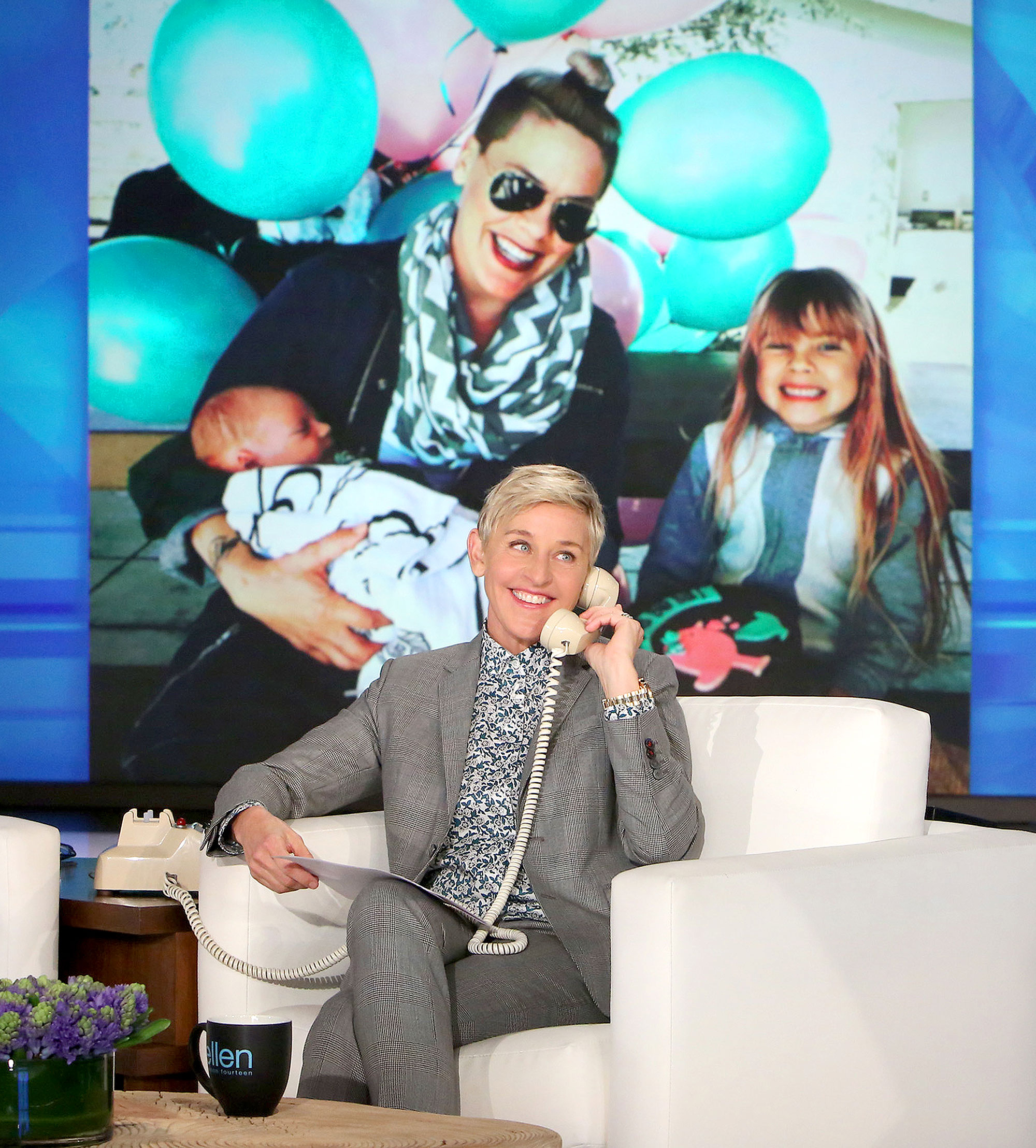 In Pink's first interview since giving birth to her newborn son, Jameson, Ellen chats with her about the baby and how she threw a 'Big Sister Party' for her daughter, Willow, to celebrate her brother's arrival.
