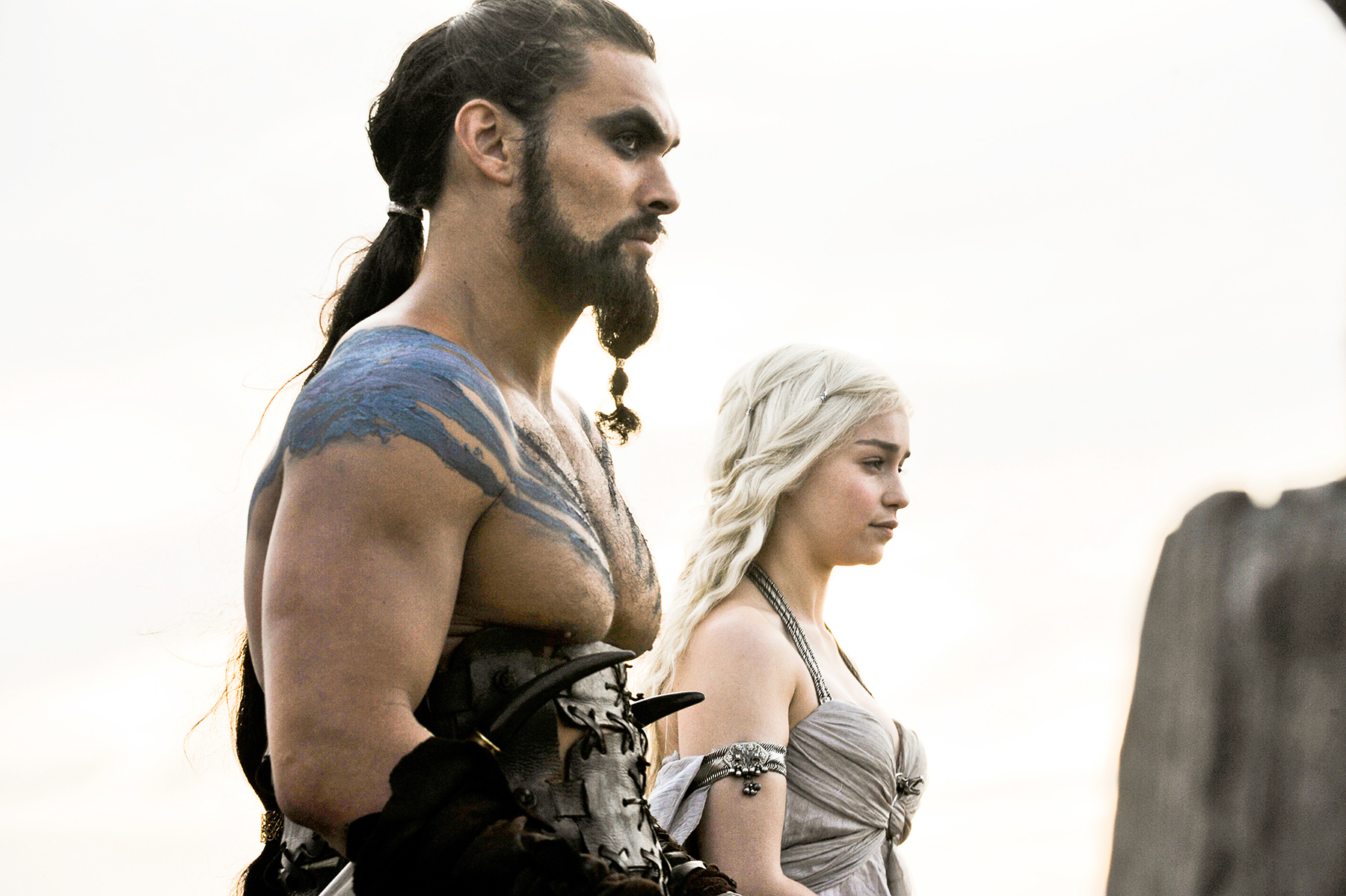 Jason Momoa Emilia Clarke Game of Thrones