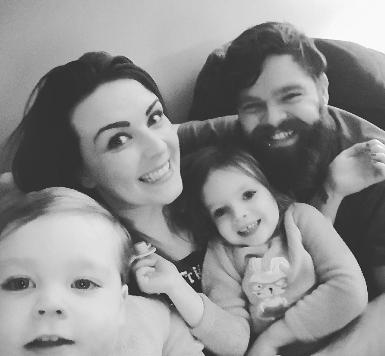 Emma Lou Harris and family