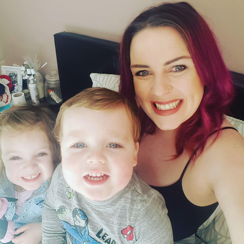 Emma Lou Harris and her kids