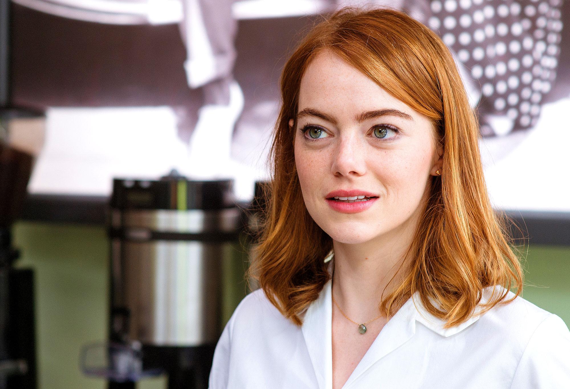 Emma Stone as Mia in La La Land
