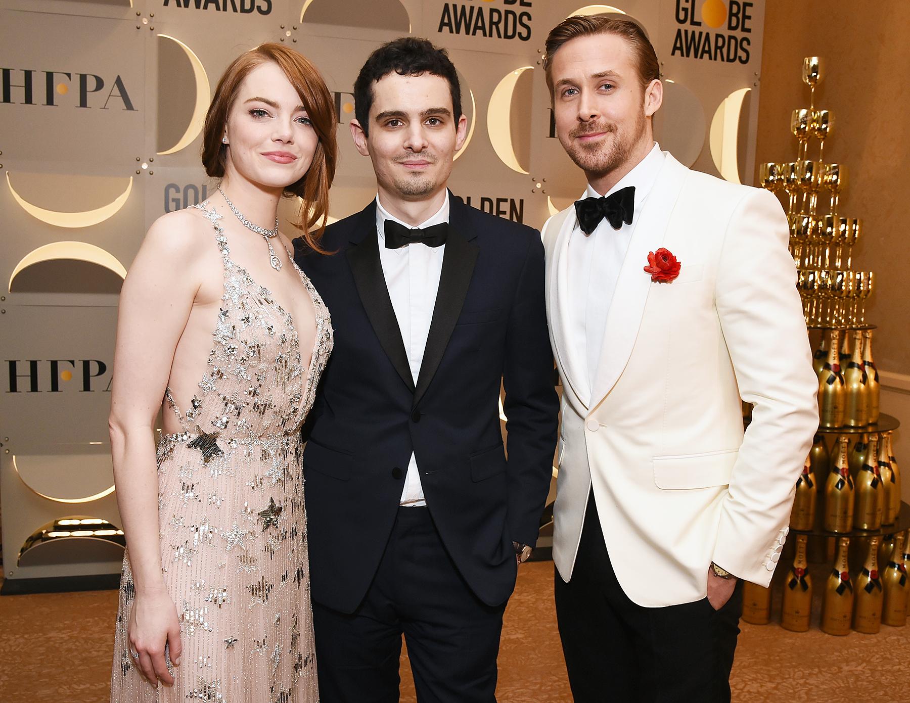 Emma Stone Damien Chazelle Ryan Gosling