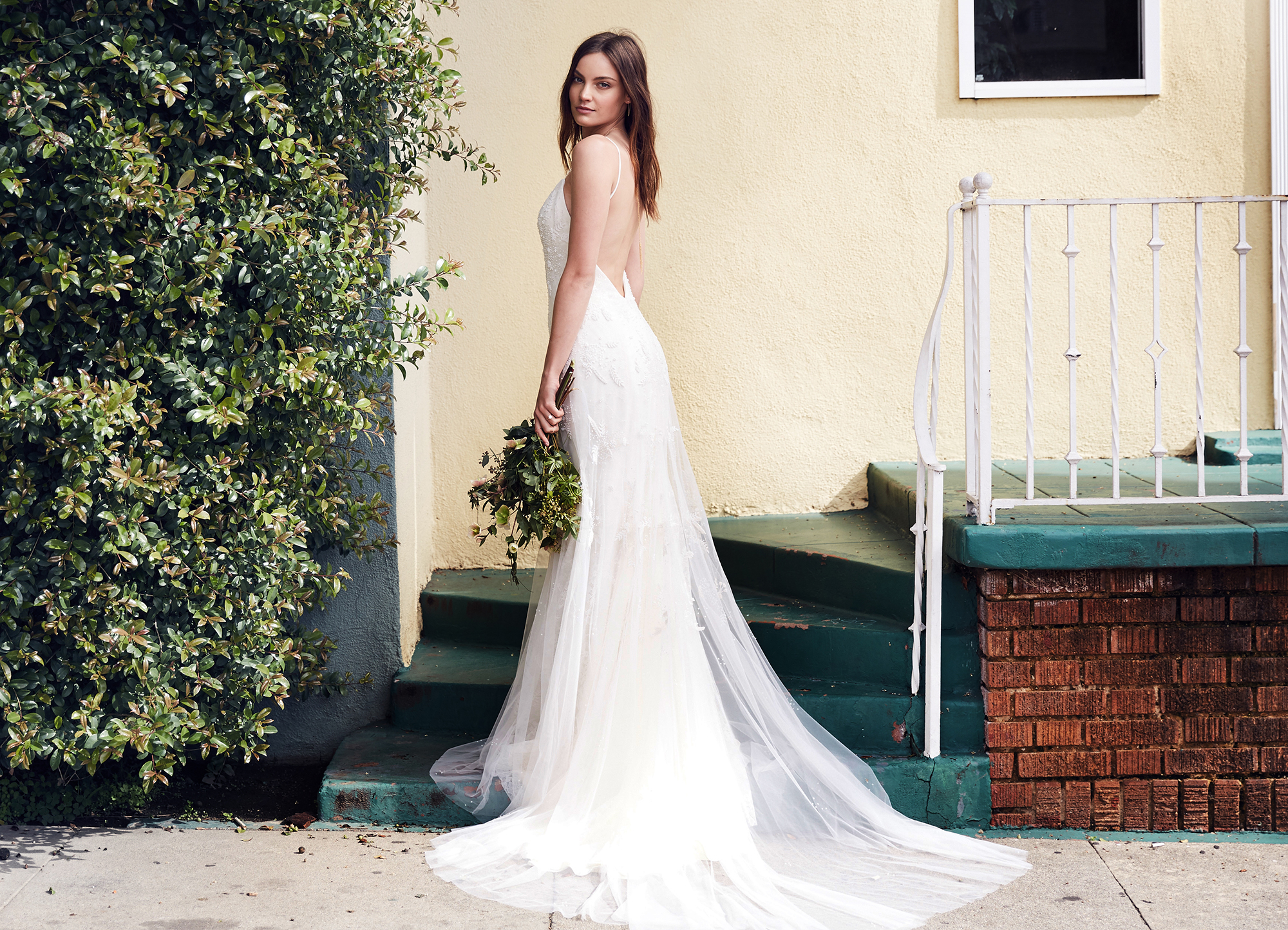 c6fedab84b2 Oscar Nominee Emma Stone s Style Inspired This Bridal Gown
