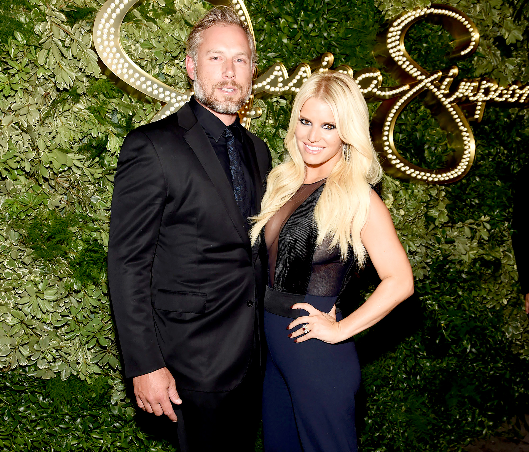 Eric Johnson and Jessica Simpson attend the 10th Anniversary Celebration of the Jessica Simpson Collection at Tavern on the Green on September 9, 2015 in New York City.