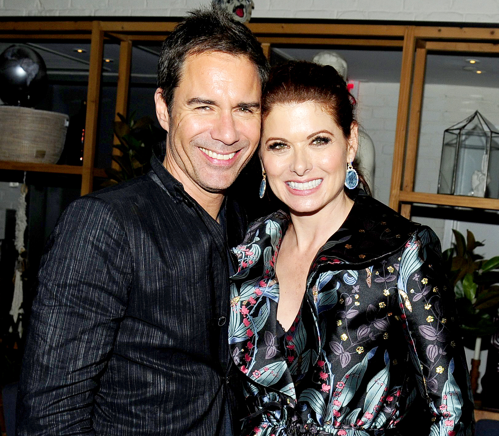 """Eric McCormack and Debra Messing attend NBC & Vanity Fair's party for """"Will & Grace"""" on September 23, 2017."""