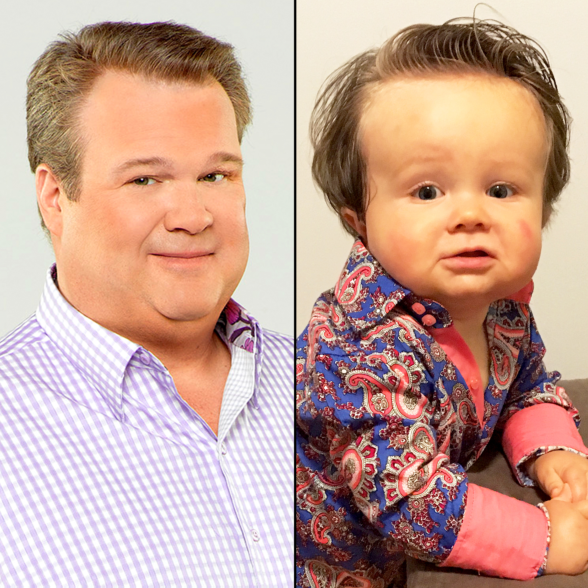 Eric Stonestreet and Charlie Harding