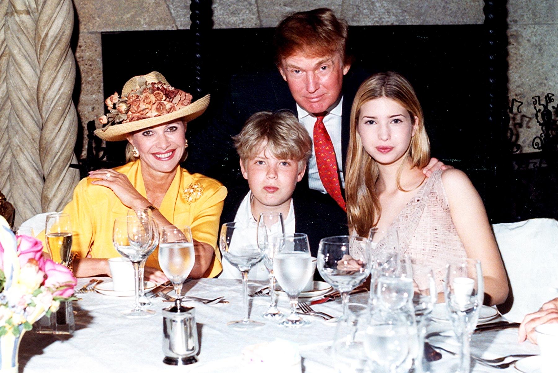 Ivana Trump Eric Trump Donald Trump Ivanka Trump