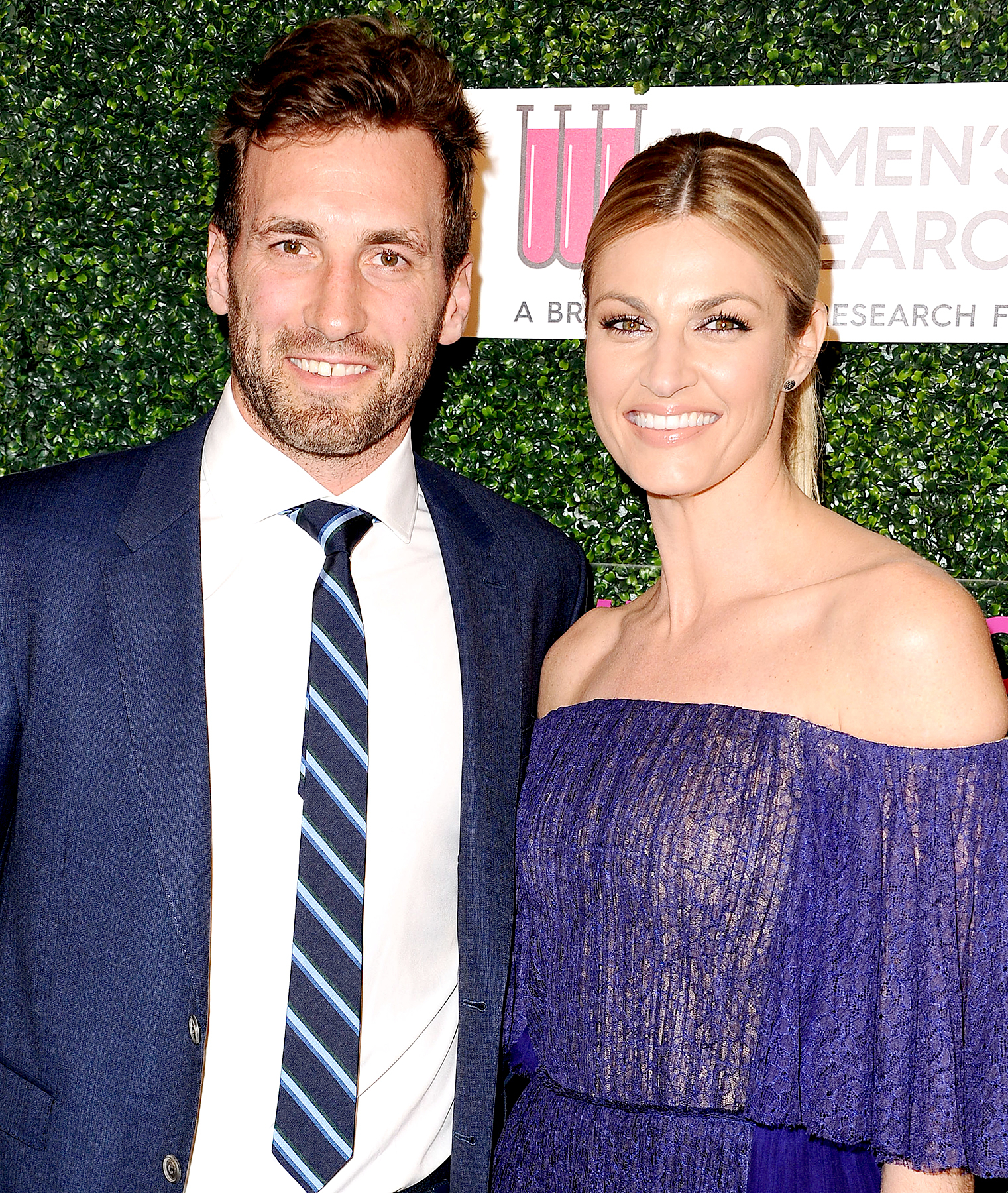 Jarret Stoll and Erin Andrews attend An Unforgettable Evening at the Beverly Wilshire Four Seasons Hotel on February 16, 2017 in Beverly Hills, California