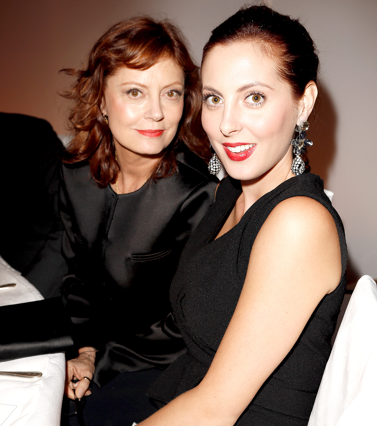 Susan Sarandon and Eva Amurri attend Elle's 19th Annual Women In Hollywood Celebration at the Four Seasons Hotel on October 15, 2012 in Beverly Hills, California.