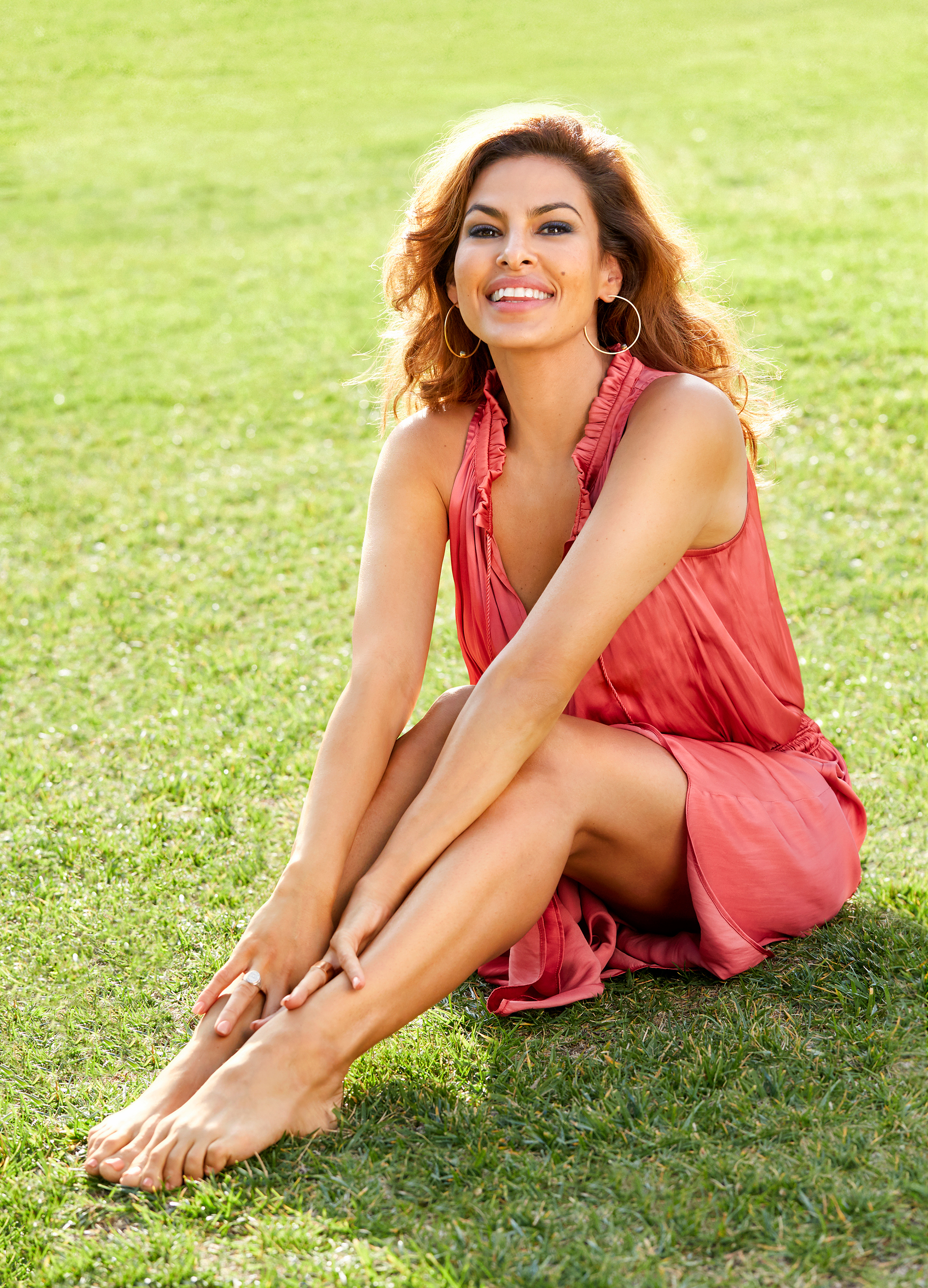 Eva Mendes Eats the Sa...