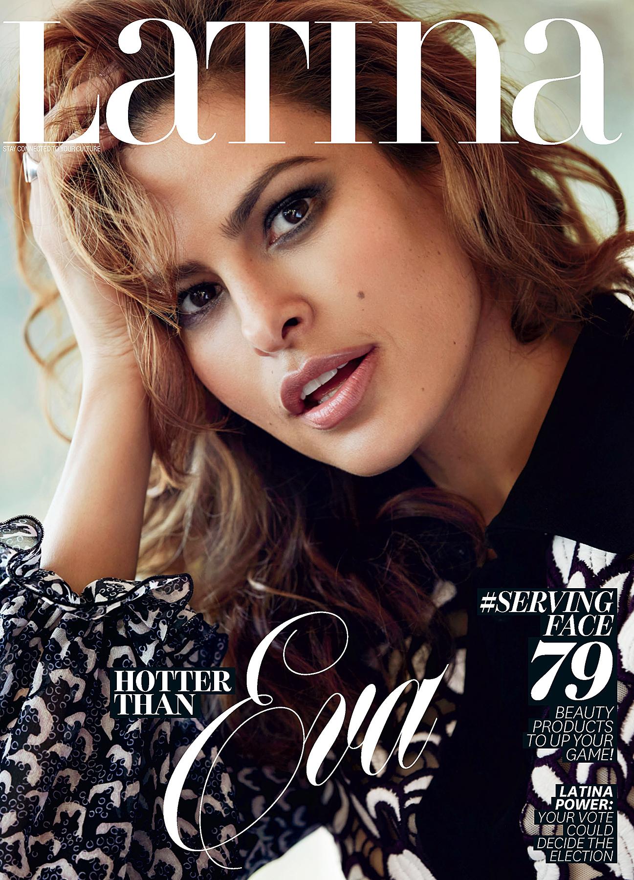 Eva Mendes 'Latina' magazine cover