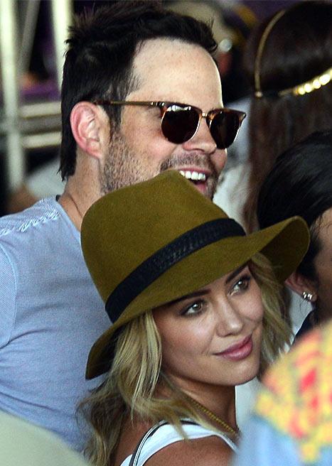 Hilary Duff at Coachella