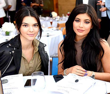 Kendall Jenner and Kylie Jenner - together