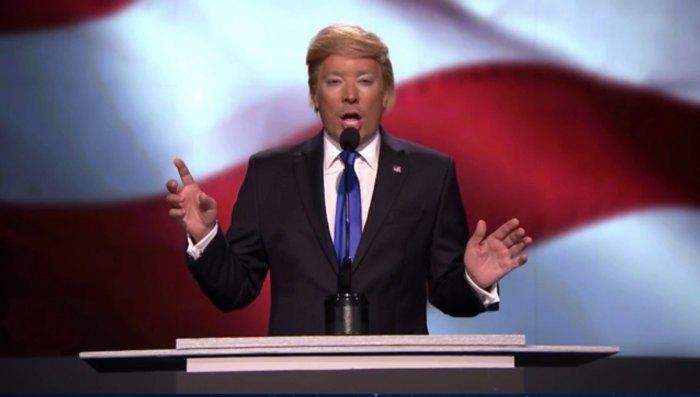 Jimmy Fallon as Donald Trump