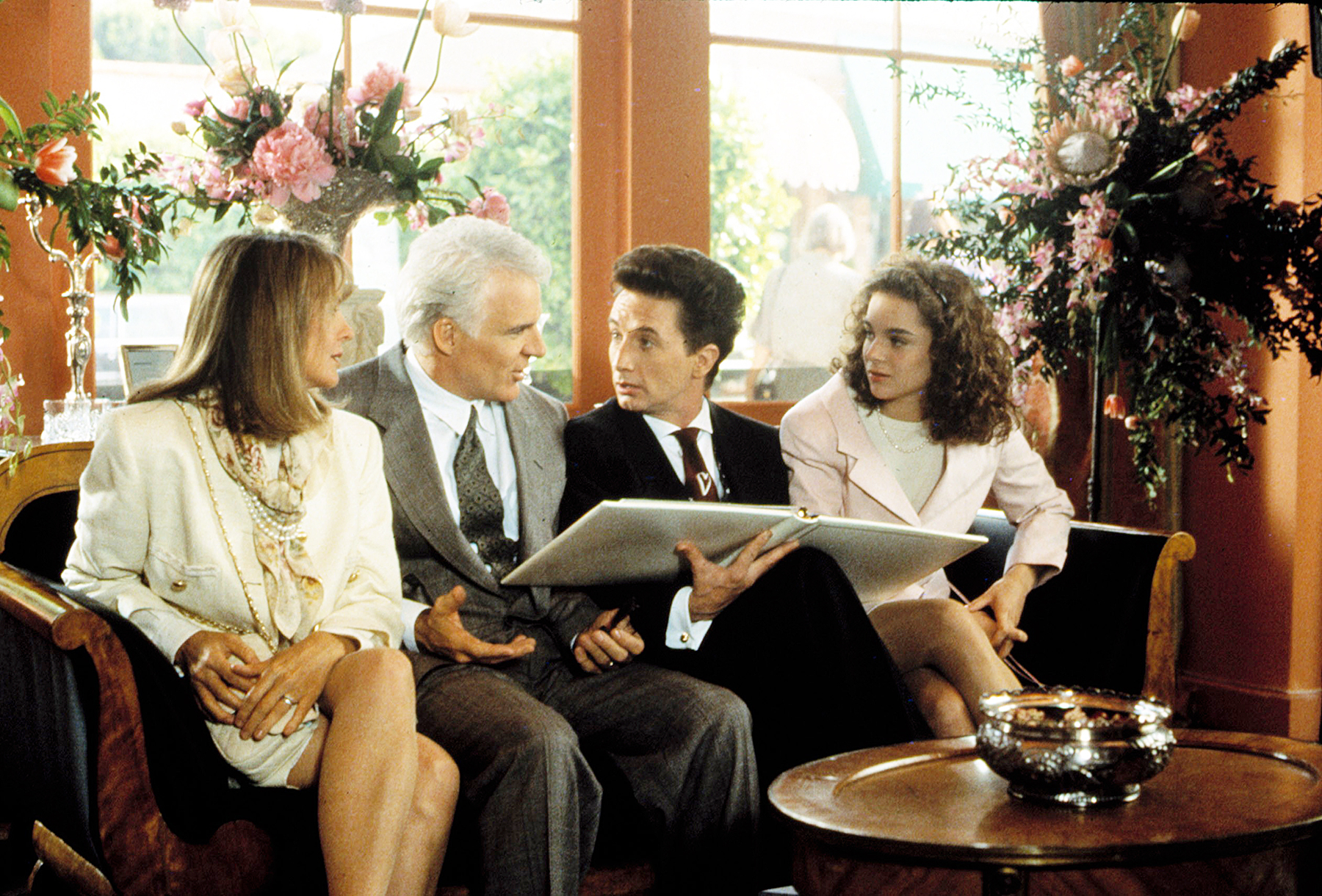 Father of The Bride Diane Keaton Steve Martin Martin Short Kimberly Williams