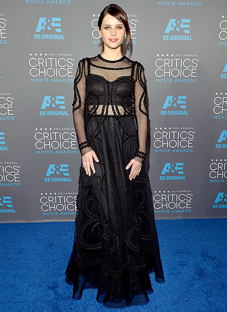 Felicity Jones - Critics' Choice Movie Awards