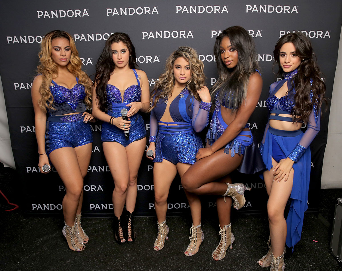 Fifth Harmony at Pandora Summer Crush 2015
