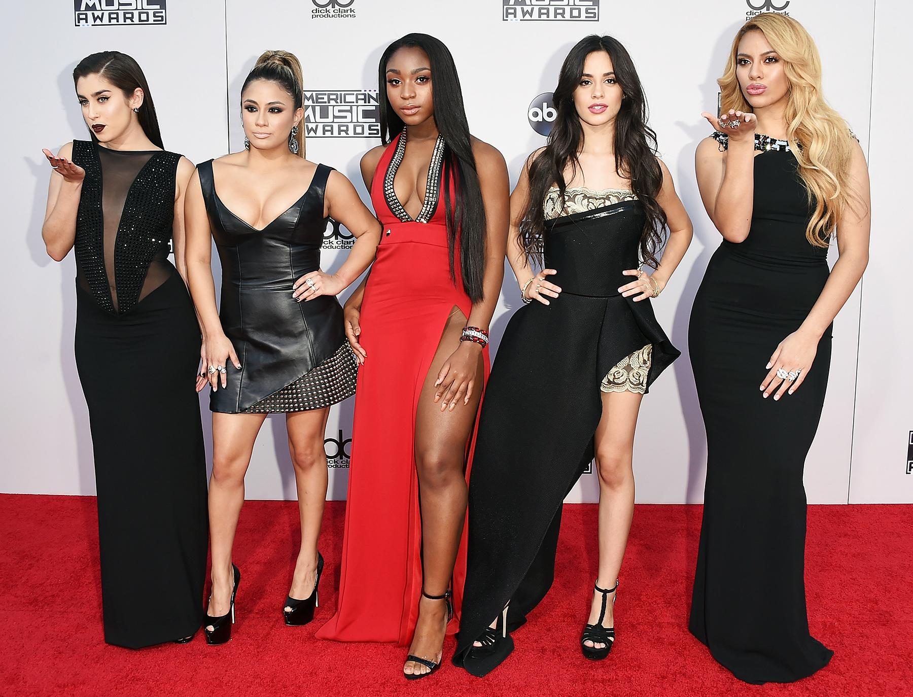 Lauren Jauregui Ally Brooke Normani Hamilton Camila Cabello Dinah-Jane Hansen Fifth Harmony