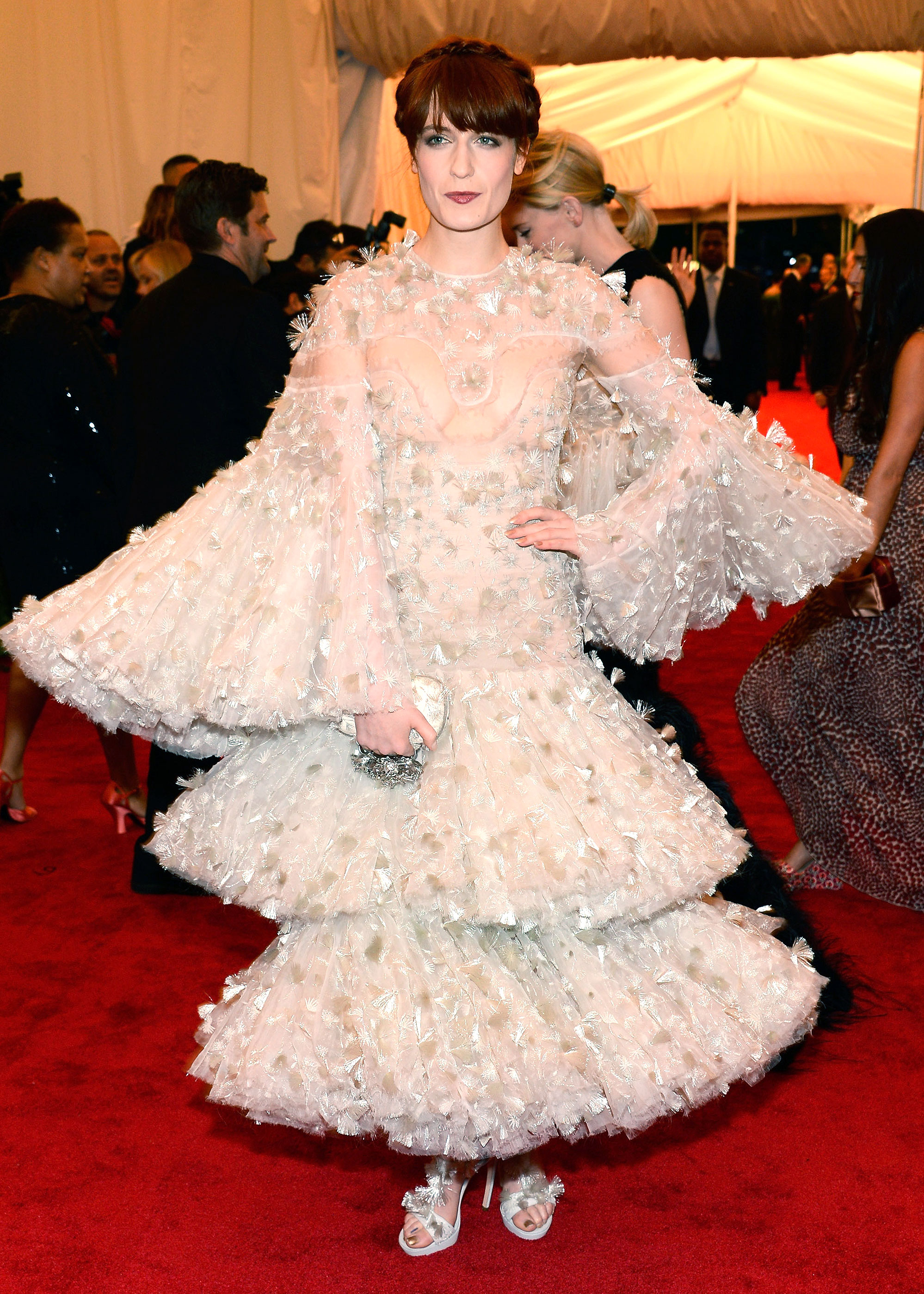 Florence Welch - In Alexander McQueen.
