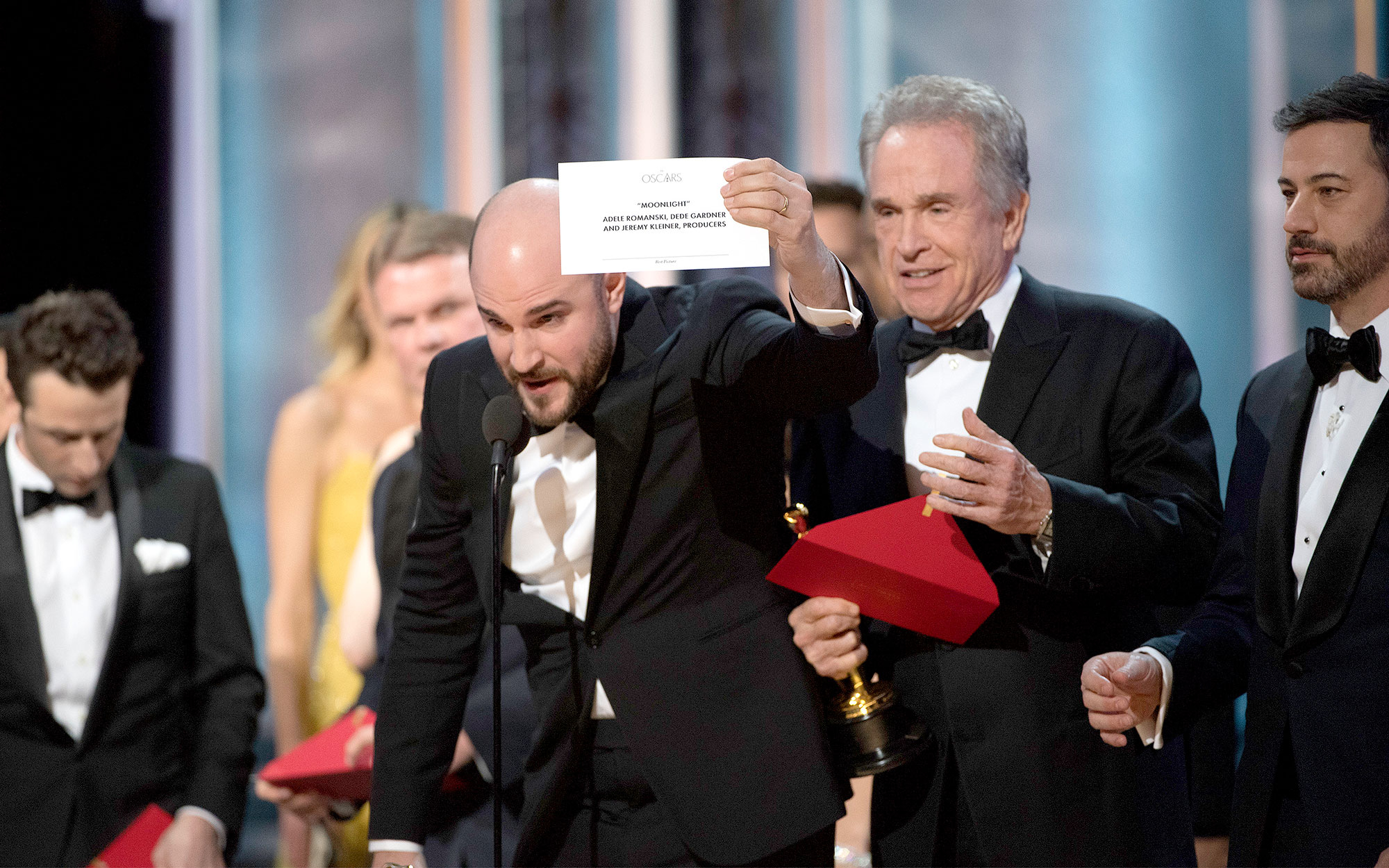 New rules govern handling of Oscar envelopes