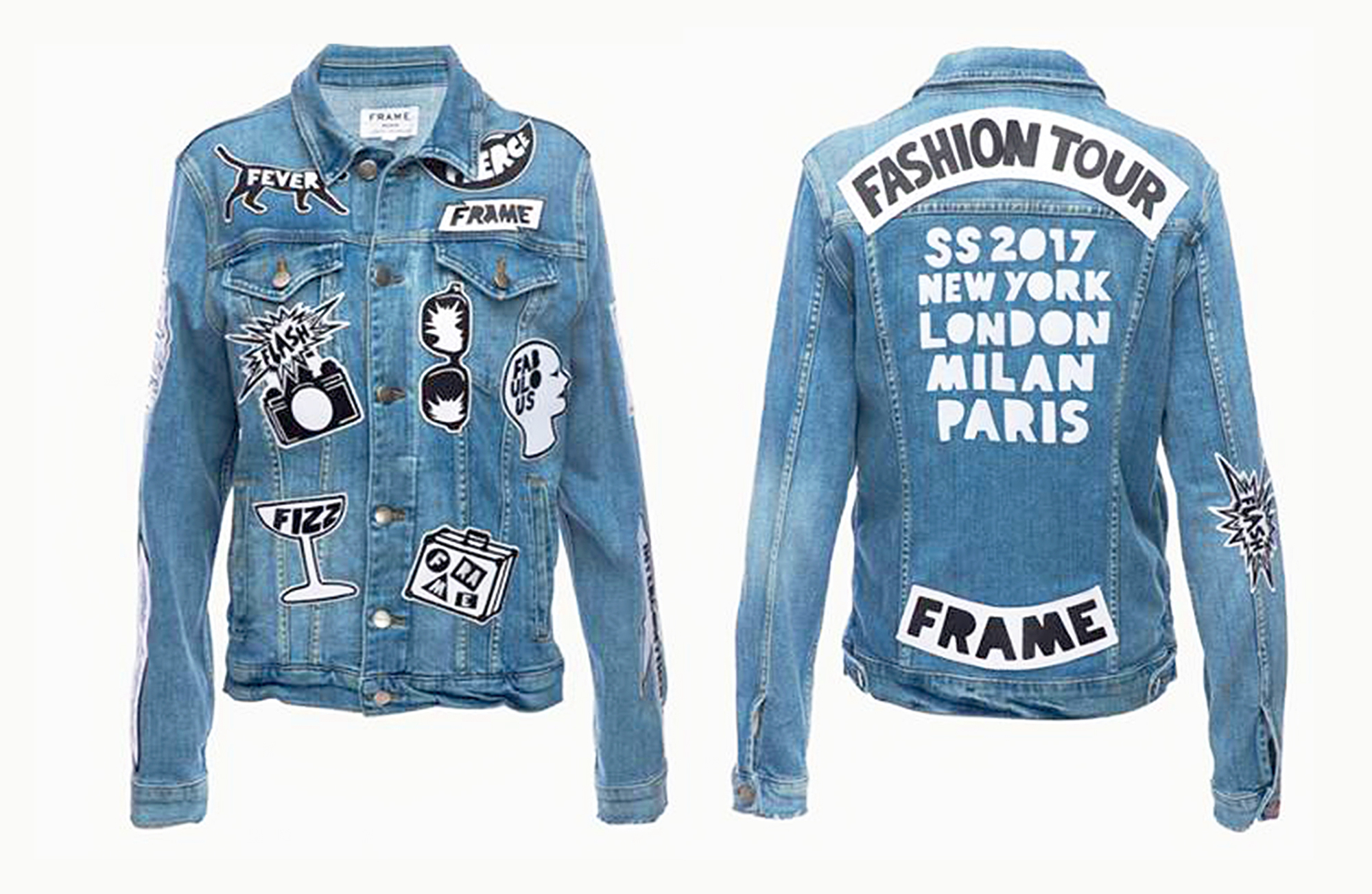 Frame's Fashion Tour jacket