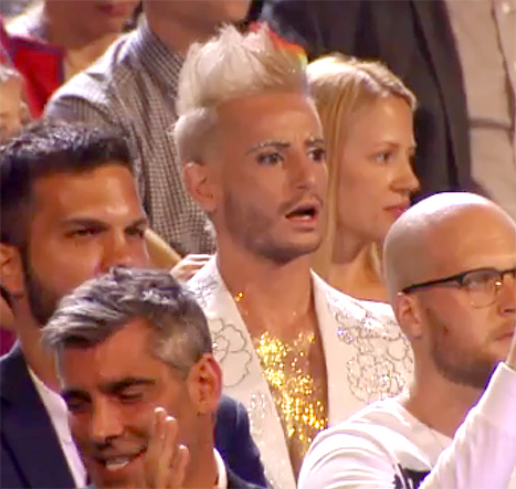 frankie grande reacts to miley