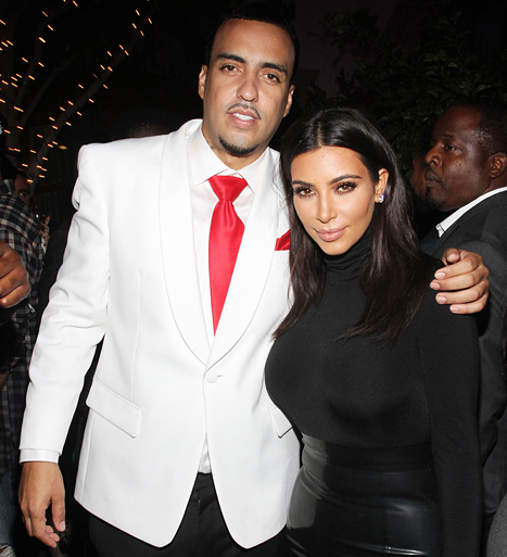 french montana and kim