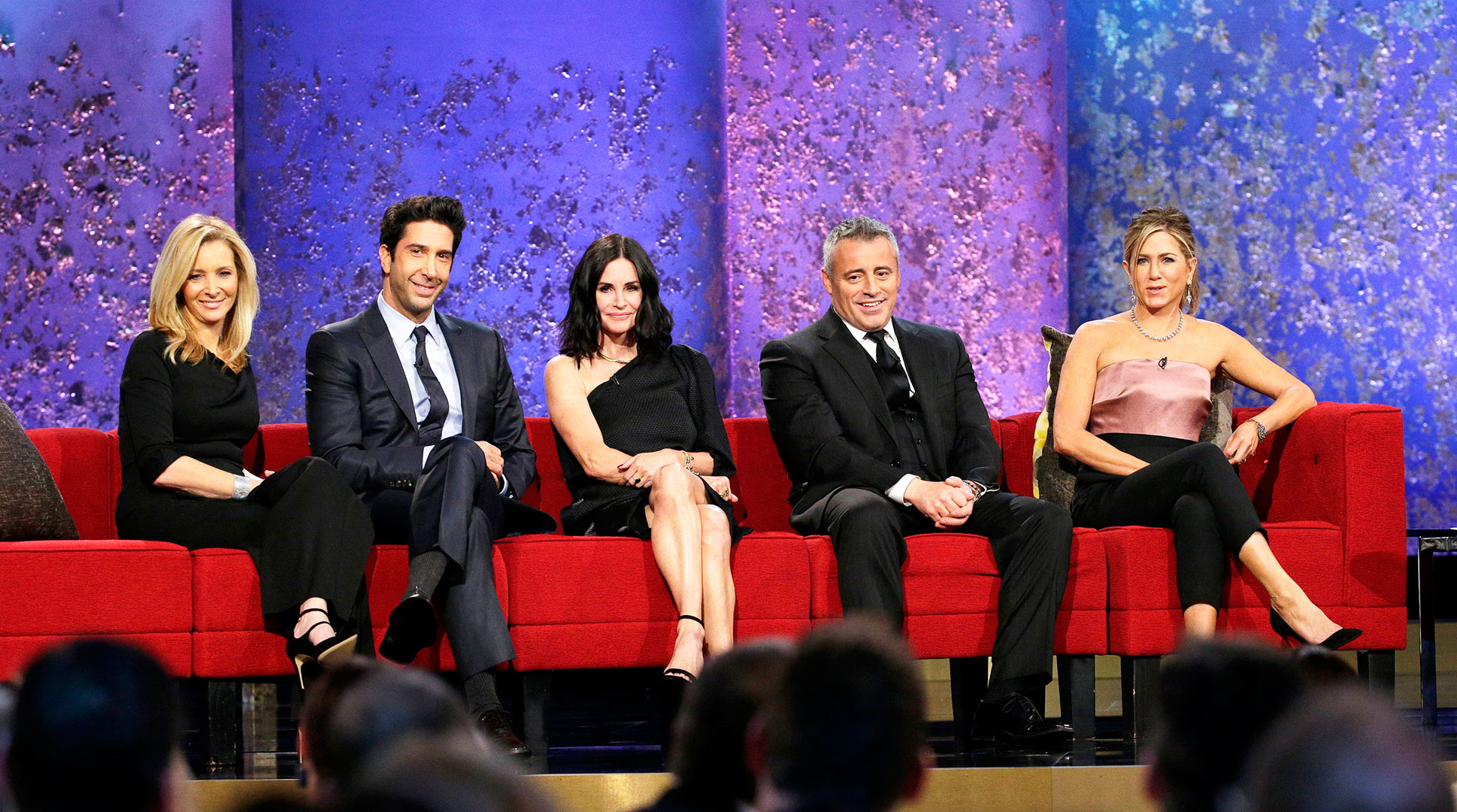 Lisa Kudrow, David Schwimmer, Courteney Cox, Matt LeBlanc, Jennifer Aniston