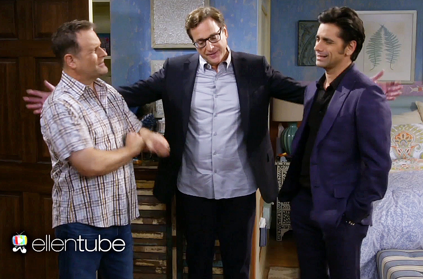 Dave Coulier, Bob Saget and John Stamos